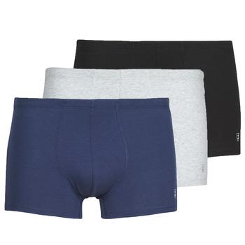 Underkläder  Herr Boxershorts Mariner PACK COTON BIO Svart / Marin / Grå