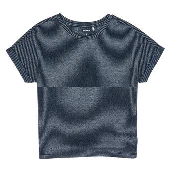 textil Flickor T-shirts Name it NKFKYRRA Marin