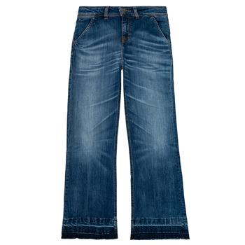 textil Flickor Bootcutjeans Tommy Hilfiger KG0KG05199-1BJ Blå