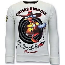 textil Herr Sweatshirts Local Fanatic Lyx Crime Empire W Vit