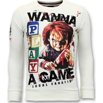 textil Herr Sweatshirts Local Fanatic Chucky Childs Play W Vit