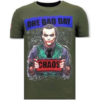 textil Herr T-shirts Local Fanatic Exclusive The Joker G Grön