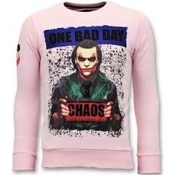 textil Herr Sweatshirts Local Fanatic The Joker R Rosa