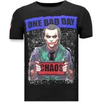 textil Herr T-shirts Local Fanatic Lyx The Joker Z Svart