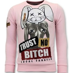 textil Herr Sweatshirts Local Fanatic Lita No Bitch R Rosa