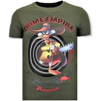 textil Herr T-shirts Local Fanatic Tuff Brott Empire G Grön