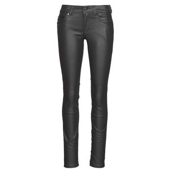 textil Dam Stuprörsjeans Pepe jeans NEW BROOKE Svart