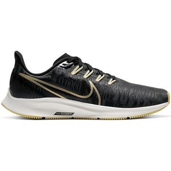Skor Dam Sneakers Nike Air Zoom Pegasus 36 Premium W Grafit,Svarta