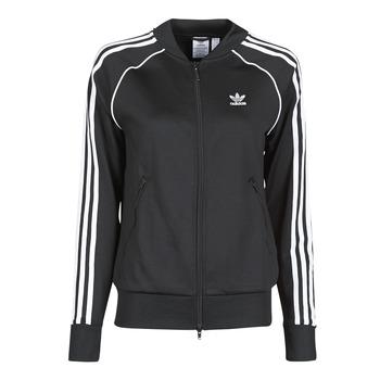 textil Dam Sweatjackets adidas Originals SST TRACKTOP PB Svart