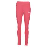 textil Dam Leggings adidas Originals 3 STR TIGHT Rosa