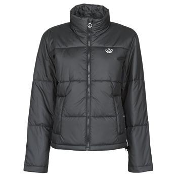 textil Dam Täckjackor adidas Originals SHORT PUFFER Svart