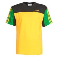 textil Herr T-shirts adidas Originals CLASSICS SS TEE Guldfärgad