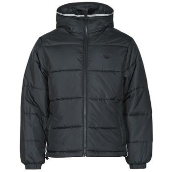 textil Herr Täckjackor adidas Originals PAD HOODED PUFF Svart