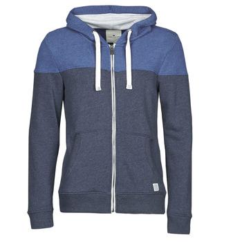 textil Herr Sweatshirts Tom Tailor 1021268-10668 Marin / Blå