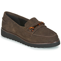 Skor Dam Loafers Damart 62298 Brun