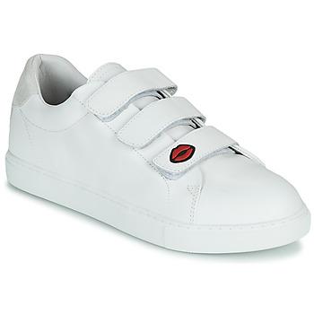 Skor Dam Sneakers Bons baisers de Paname EDITH LEGENDE Vit