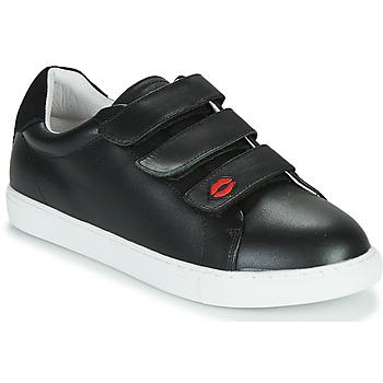 Skor Dam Sneakers Bons baisers de Paname EDITH LEGENDE Svart