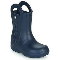 Skor Barn Gummistövlar Crocs HANDLE IT RAIN BOOT Navy