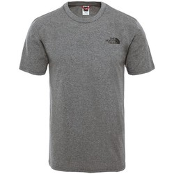 textil Herr T-shirts The North Face Simple Dome Gråa