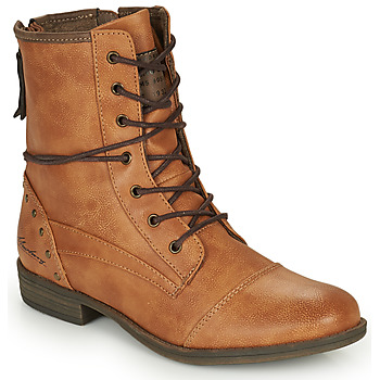 Skor Dam Boots Mustang 1157508 Kamel
