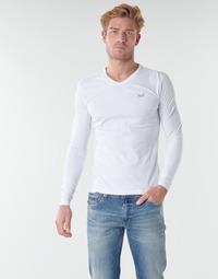 textil Herr Långärmade T-shirts Kaporal VIFT Svart / vit