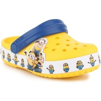 Skor Barn Träskor Crocs Fun Lab Minions Multi Clog 205512-730 yellow