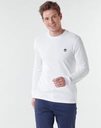 textil Herr Långärmade T-shirts Timberland LS Dunstan River Tee Vit