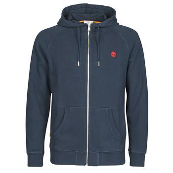 textil Herr Sweatshirts Timberland E-R Basic Reg Zip Marin