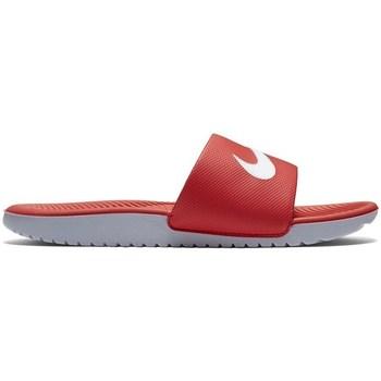 Skor Barn Flipflops Nike Kawa Slide Gsps Röda
