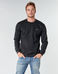 textil Herr Sweatshirts Teddy Smith S-NARK RC Svart