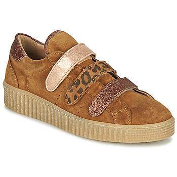 Skor Dam Sneakers Philippe Morvan ZEUS2 V1 SILKY CAMEL Brun