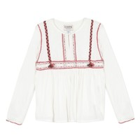 textil Flickor Blusar Chipie 8R12014-19 Vit