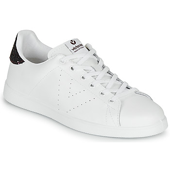 Skor Dam Sneakers Victoria TENIS PIEL Vit / Bordeaux