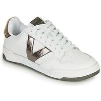 Skor Dam Sneakers Victoria CRONO PIEL Vit / Brons