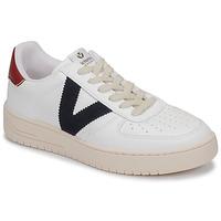 Skor Sneakers Victoria SIEMPRE PIEL VEG Vit / Blå / Röd