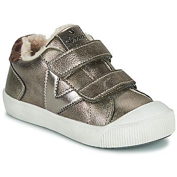 Skor Flickor Sneakers Victoria HUELLAS  TIRAS Silver
