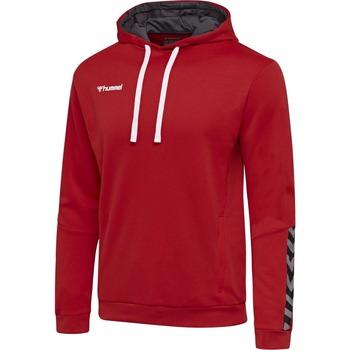 textil Barn Sweatshirts Hummel Sweatshirt enfant  hmlAUTHENTIC Poly rouge