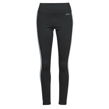 textil Dam Leggings adidas Performance W D2M 3S HR LT Svart