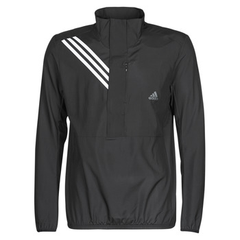 textil Herr Sweatshirts adidas Performance OWN THE RUN JKT Svart