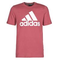 textil Herr T-shirts adidas Performance MH BOS Tee Röd / Heritage