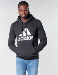 textil Herr Sweatshirts adidas Performance MH BOS PO FL Svart