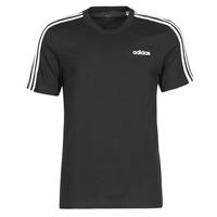 textil Herr T-shirts adidas Performance E 3S TEE Svart