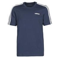 textil Herr T-shirts adidas Performance E 3S TEE Bläckfärgad / Legend