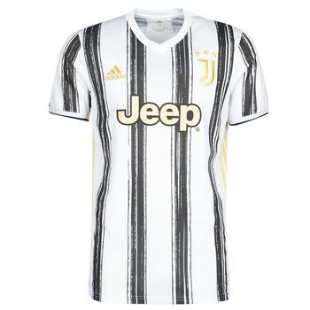 textil T-shirts adidas Performance JUVE H JSY Vit / Svart