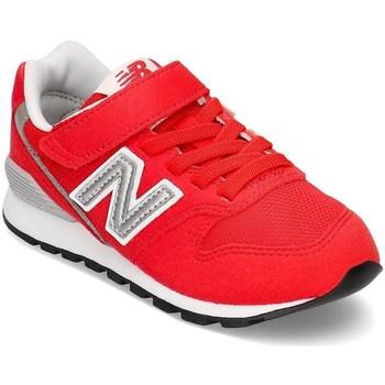 Skor Barn Sneakers New Balance 996 Vit,Röda