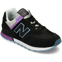 Skor Dam Sneakers New Balance 574 Svarta, Lila