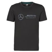 textil Herr T-shirts Puma MAPM LOGO TEE Svart