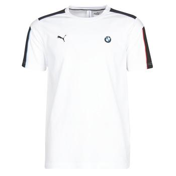 textil Herr T-shirts Puma BMW MMS MS T7 TEE Vit