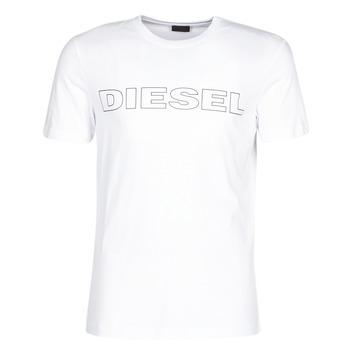 textil Herr T-shirts Diesel JAKE Vit