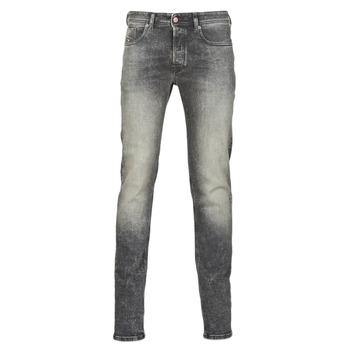 textil Herr Skinny Jeans Diesel SLEENKER Grå / Mörk